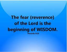 Image result for REVERENCE BEFORE GOD