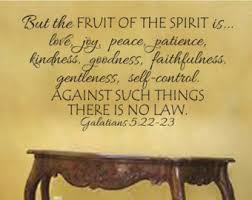 faith obedience trust hope assurance fruit love joy peace