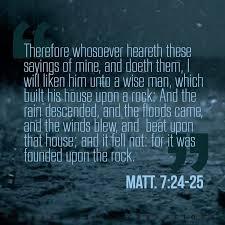 7 verse 24
