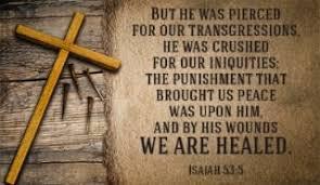 Isaiah 53 v 5