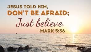 mark 5 verse 36